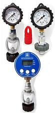 350bar cylinder pressure check gauge. choice of fitting. Red Hat Diving