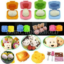 3D Sushi Rice Egg Dumpling Maker Cookie Fondant Cake Chcolate Mold Cutter Mixed