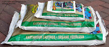 Wiggle Worm Earthworm Worm Castings Organic Fertilizer Pick your Size 4.5lb-60lb