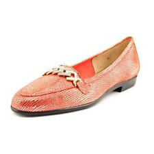 Amalfi By Rangoni Oste Womens Narrow Patent Leather Loafers Shoes
