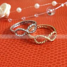 1pc Fashion Infinity Best Friends Ring Women Girls Accessory Jewelry  New Gifts