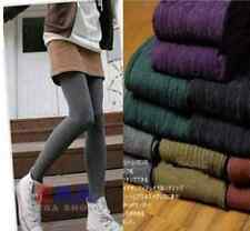 Womens Thick Tights Knit Winter Leggings Fashion Footed Warm Cotton Stockings