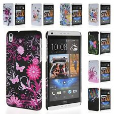 New Color Simple Design Soft Gel TPU Silicone Back Case Cover For HTC Desire 816