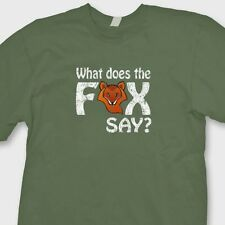 What Does The Fox Say? You Tube Dance T-shirt Funny Norwegian Tee Shirt