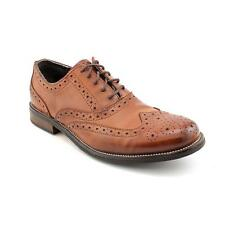 Steve Madden Ethin 2 Mens Wingtip Leather Oxfords Shoes Used