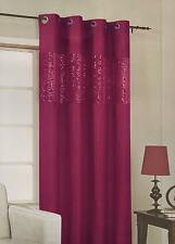 """HOLLYWOOD  luxury microfibre sequinned eyelet lined curtain Panel 54"""" x 90"""""""