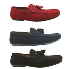 Italian Moccasin Boys Mens Loafers with Tassels for Casual Party Slip On Shoes