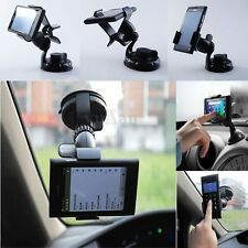 360°Rotatif Support Voiture Ventouse Pare Brise Pince pr iPhone Galaxy HTC Nokia