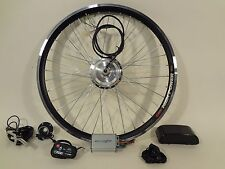 """Ebikeling Electric Bicycle Conversion Kit 24V 36V 350W Geared 26"""" Front Rear"""
