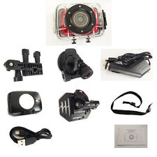 """2.0 """" Touch Panel Zoom Sports Action DV Video Camera Recorder USB 2.0 Waterproof"""