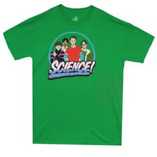 Big Bang Theory 8 Bit Science Sheldon Cooper Licensed Adult Shirt S-XXL