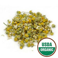 Chamomile Flowers Certified Organic 1oz to 8oz  Multiple Sizes