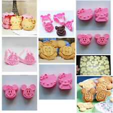 Cute Cookie DIY Tool Cake Sugar Craft Chocolate Decorating Plunger Cutter Mold