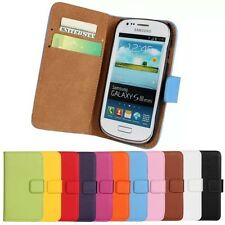 For Samsung Galaxy S3 mini i8190 Wallet Leather Case in cell phone accessories