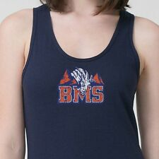 BMS Blue Mountain State Football The Goats T-shirt Orange Pride Adult Tank Top