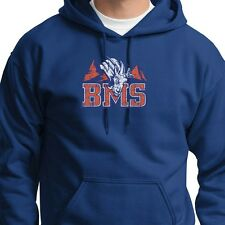 BMS Blue Mountain State Football The Goats Tee Orange Pride Hoodie Sweatshirt