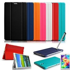 "ULTRA THIN smart book Leather Case Cover for Samsung Galaxy Tab S 8.4""/10.5 INCH"