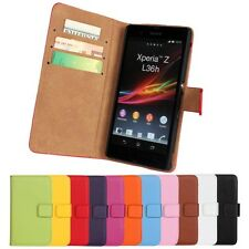 Mobile Phone Case For Sony Xperia Wallet Cover Case in cell phone accessories