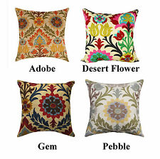 Waverly Santa Maria Floral Damask Style Decorative Pillow Cover / Sham Cover