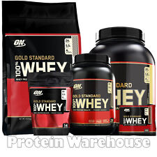 Optimum Nutrition Gold Standard 2lb 10lb 100% Whey Protein 5lb Sale On £44.50