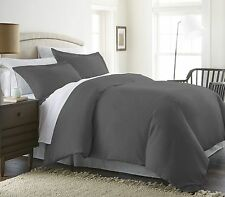 1800 Duvet Cover Set with Shams - King/Cal King & Full/Queen - 3 Piece Set- Soft