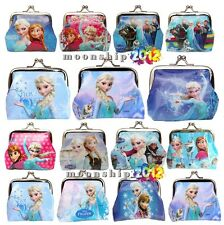 Multi Frozen Printing Coin Purse Wallet Elsa Anna Party Supplies Gifts Boxes