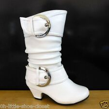 White Dress Casual Walking Boots Baby & Toddler & Infant Size 4