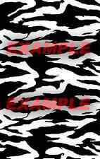Cerakote Duracoat Tiger Stripe Type B Stencil Vinyl Paint Camouflage Camo Home