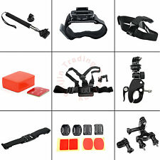 Head Helmet Chest Roll Cage Monopod Floaty Tripod Mount for GoPro HD HERO3+3 2 1