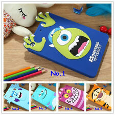 Cartoon Monsters University Silicone Protective Case For ipad mini 1/2 Back Case