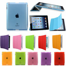 Ultra Slim Smart Leather Magnetic Stand Case Cover Pink For iPad Air/iPad 2/3/4