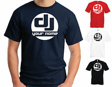 """DJ """"YOUR NAME"""" T-SHIRT - PERSONALISED FUNNY JOKE VARIOUS SIZES/COLOURS"""