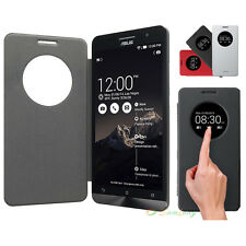 Smart S-View Window Synthetic Leather Case Cover For  Original ASUS Zenfone 5 Z5