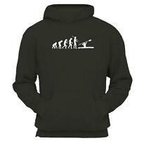 Evolution Canoe Kayak Water Sport - Hoody Hoodie Cosy Hooded Sweatshirt / New