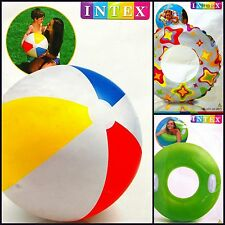 Beach Balls Swimming rings & Armbands Holiday Fun Garden Fun NEW