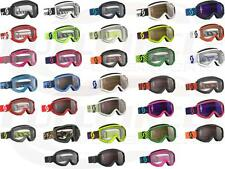 Scott USA Recoil XI Adult Goggle Dirt Bike Motocross MX ATV UTV Clear Lexan Lens