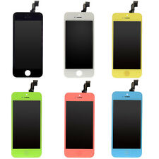 1/6 Colors Replacement LCD Display Assamblely Touch Digitizer For iPhone 5C