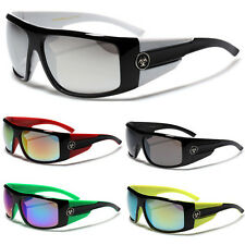 OVERSIZED SPORT MEN'S MIRROR SUNGLASSES CYCLING DRIVING GOGGLES 1 SIZE FITS MOST