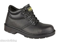 Northwest Territory Leather Safety Oil Resistant Warm Work Ankle Shoe Boots