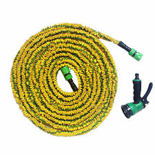 Expanding Expandable Flexible Garden Hose Pipe with Spray Gun 50ft 75ft 100ft