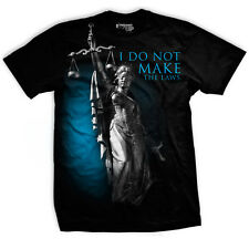 Ranger Up Lady Justice T-Shirt - Black