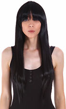 Long Straight Women's Girl Cosplay Party Full Hair Anime Wigs With Hairnet