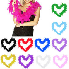 11 Colors Handmade Fashion Elegant Feather Fluffy Fantasy Scarf Dress Accessorie