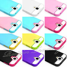 HYBRID SHOCK PROOF CASE COVER FOR SAMSUNG GALAXY S4 I9500 With FREE SCREEN