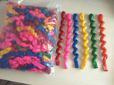 wholesale 20/50/100pcs hybrid spiral twist decoration The balloon