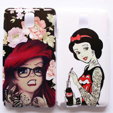 Disney Princess Snow White Ariel Punk Hard Case Cover For Samsung Galaxy Note 3