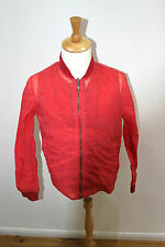 esemplare jacket  made in italy £490 new 3 in one jacket red george