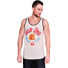Roots of Fight Muay Thai Translation Tank Top - Vintage White