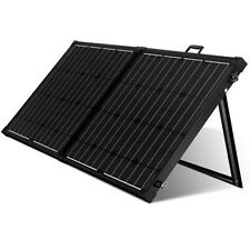 12v Portable Mono Solar Panel Folding Kit For Camping Caravan Boat Charge