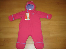 NWT The North Face Infant Girl's Toasty Toes Bunting (Retail $110.00)